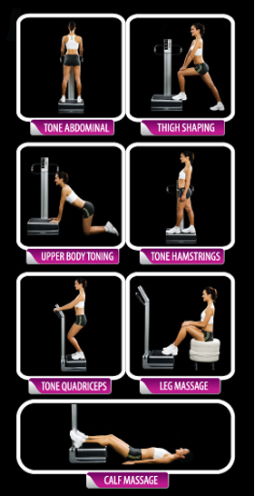 flabelos vibrating plate workout suggestions
