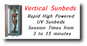 Vertical tanning Units